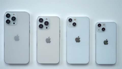 Trên tay dummy iPhone 13, iPhone 13 mini, iPhone 13 Pro và iPhone 13 Pro Max