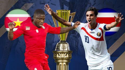 Nhận định bóng đá Suriname vs Costa Rica, 07h30 ngày 17/7