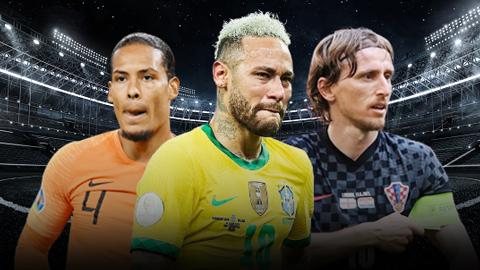 Neymar & đội hình các ngôi sao chưa giành danh hiệu nào với ĐTQG từ đầu thế kỷ 21