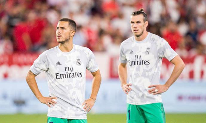 Bale và Hazard đang làm phình to quỹ lương của Real