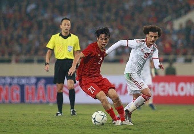 ĐT Việt Nam duy trì mạch bất bại dưới triều đại HLV Park Hang Seo khi đá ở sân Mỹ Đình