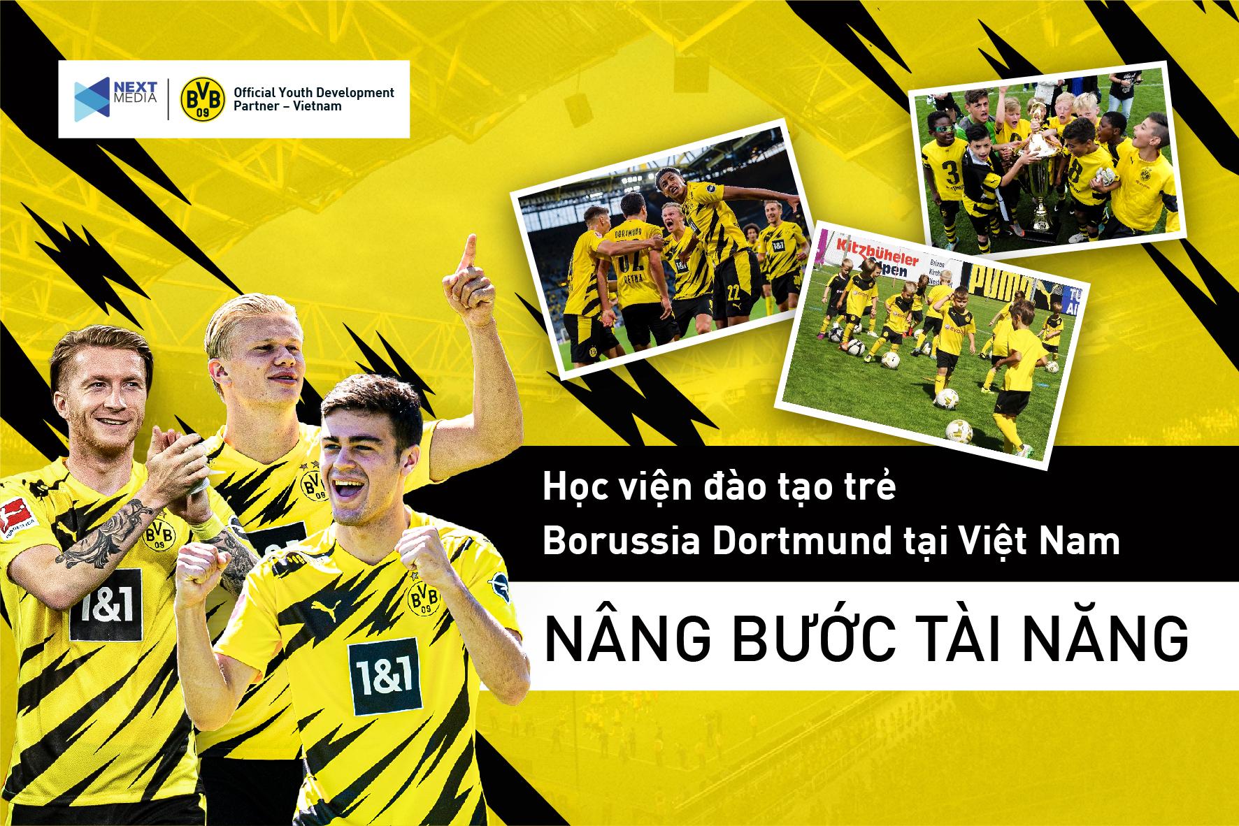 Next Media hợp tác với Borussia Dortmund mở học viện đào tạo trẻ tại Việt Nam