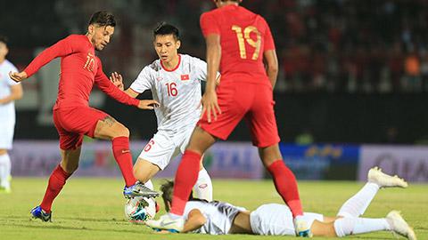 ĐT Indonesia 'lên gân' trước trận play-off tham dự Asian Cup 2023