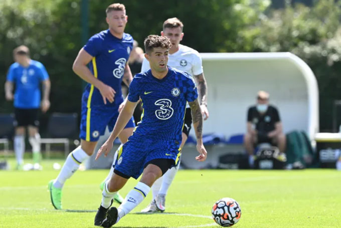 Pulisic cũng ghi 1 bàn cho Chelsea