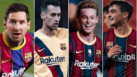 Đội hình Barcelona mùa giải 2021/22: Ráp lại những mảnh vụn vỡ
