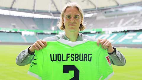 Bornauw chính thức là người của Wolfsburg