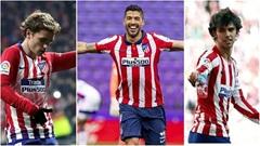 Griezmann, Suarez và Joao Felix: Bộ ba tấn công của Atletico?