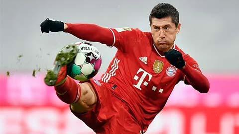 Chelsea đề nghị mua Lewandowski với 50 triệu bảng