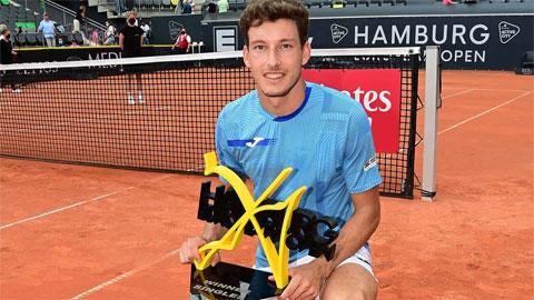 Carreno Busta vô địch giải ATP đất nện ở Hamburg