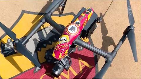 Mourinho dùng flycam giám sát cầu thủ Roma