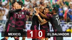 Kết quả Mexico 1-0 El Salvador: ĐKVĐ Mexico vào tứ kết Gold Cup 2021