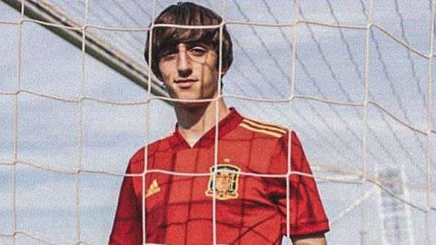 Bryan Gil của Olympic Tây Ban Nha