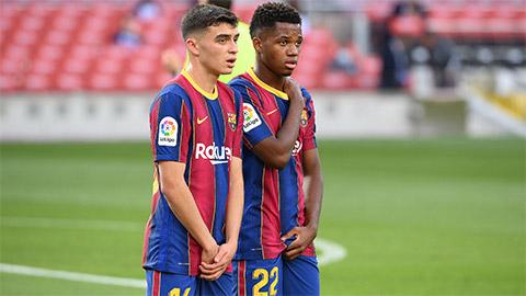 Pedri và Ansu Fati lọt Top 5 cầu thủ 18 tuổi đắt giá nhất thế giới