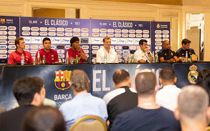 Trận El Clasico Legends sẽ diễn ra lúc 0h sáng ngày 21/7