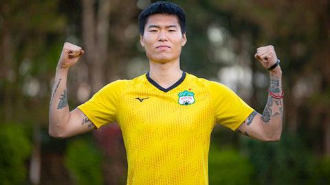 Trung vệ Hàn Quốc muốn vô địch V.League với HAGL trước khi về nhập ngũ