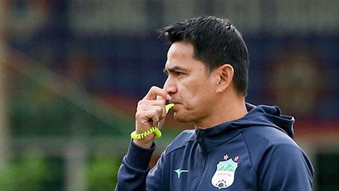 HAGL dịch kế hoạch dời V.League 2021 sang tiếng Thái cho Kiatisak