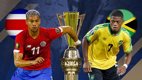 Nhận định bóng đá Costa Rica vs Jamaica , 06h00 ngày 21/7: Xây chắc ngôi đầu