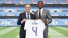 Alaba nói gì khi kế thừa áo số 4 huyền thoại của Ramos?