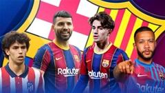 4 cầu thủ có thể thay Griezmann tại Barcelona
