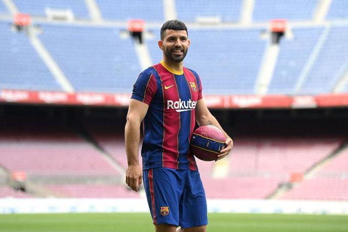 Aguero đảm bảo được nguồn cung bàn thắng nếu khỏe mạnh