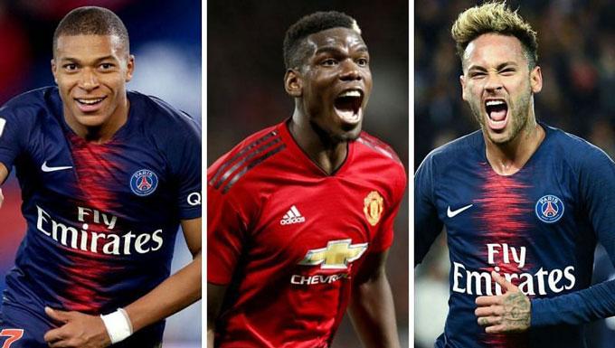 Tới PSG, Pogba sẽ nhận lương cao thứ 3 đội bóng chỉ sau Neymar và Mbappe
