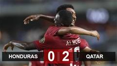 Kết quả Honduras 0-2 Qatar: Khách mời vào tứ kết Gold Cup