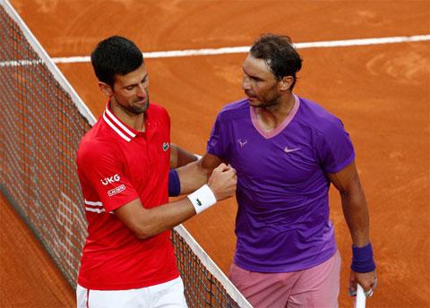 Trong Big 3 hiện tại còn mỗi Nadal đủ sức ngáng đường Djokovic