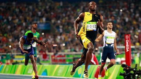 Cự ly chạy nước rút 100 mét Olympic: Ánh chớp trên đường chạy
