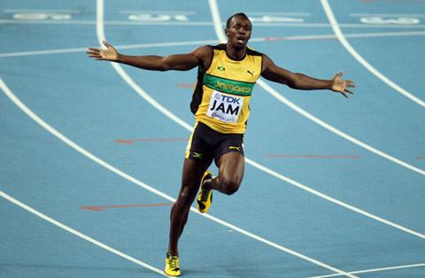 Usain Bolt thống trị đường chạy 100m tại đấu trường Olympic với thành tích 9,63 giây