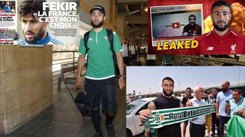 Nabil Fekir buộc phải khoác áo Betis sau vụ chuyển đến Liverpool bất thành