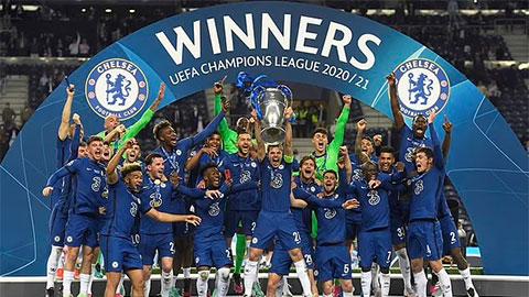Chelsea diễu hành cúp Champions League trước Tottenham vào tháng tới