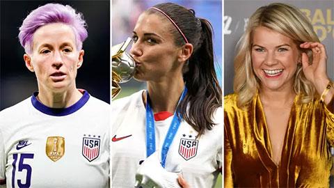 Nữ cầu thủ lương cao nhất thế giới thu nhập kém Messi cả... trăm lần!