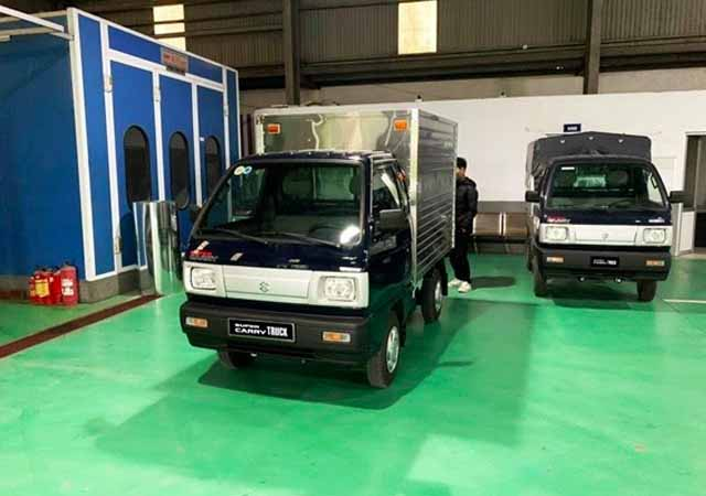 Suzuki Carry Truck - mẫu tải nhẹ lý tưởng với mức tiết kiệm nhiên liệu chỉ 6L/100km