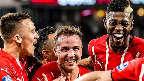 Gotze lập cú đúp, PSV hủy diệt Galatasaray tại vòng loại Champions League