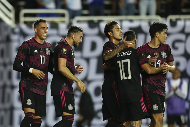 El Tri đang dần khẳng định đẳng cấp qua từng trận đấu ở Gold Cup 2021