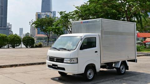 Nhu cầu vận chuyển tăng vọt mùa dịch, xe tải nhẹ Suzuki Carry Pro phát huy thế mạnh