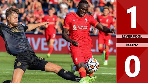 Liverpool vs Mainz: 1-0 (Giao hữu CLB 2021)
