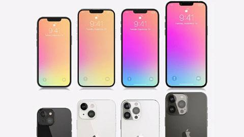 Tiết lộ kích thước notch của dòng iPhone 13