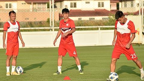 Hết cách ly tại Hà Nội, các cầu thủ Viettel được trở về nhà