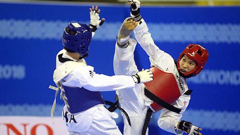 Olympic Tokyo 2020: Kim Tuyền thắng đậm trận mở màn trước võ sĩ Canada