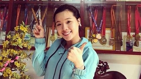 Nguyễn Thuỳ Linh, 'hot girl' nhờ ông ngoại mà bén duyên với cầu lông
