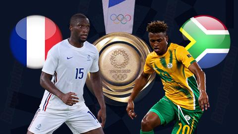 Nhận định bóng đá U23 Pháp vs U23 Nam Phi, 15h00 ngày 25/7