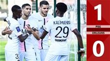 PSG vs Orleans: 1-0 (Giao hữu quốc tế 2021)