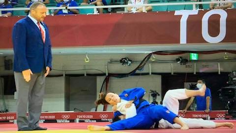 Olympic Tokyo 2020: Thanh Thuỷ bị hạ chỉ sau 1 phút 41 giây ở môn judo
