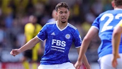 Sao trẻ Thái Lan sút hỏng penalty trong trận ra mắt đội 1 Leicester City
