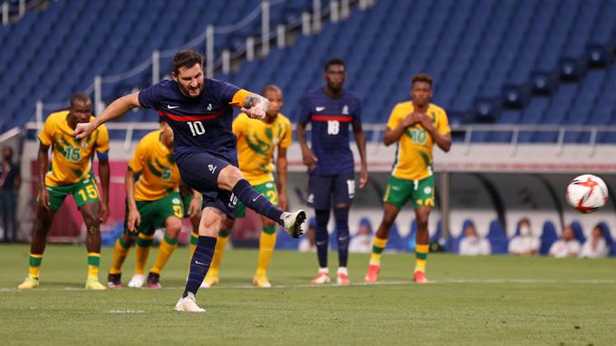 Gignac tỏa sáng với cú hat-trick ở trận U23 Pháp vs U23 Nam Phi