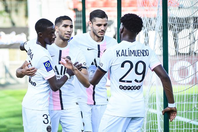 Hakimi ghi bàn duy nhất trận PSG vs Orleans ở phút 62