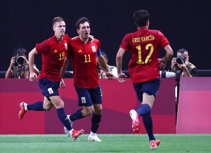 Oyarzabal ghi bàn duy nhất trận U23 Australia vs U23 Tây Ban Nha
