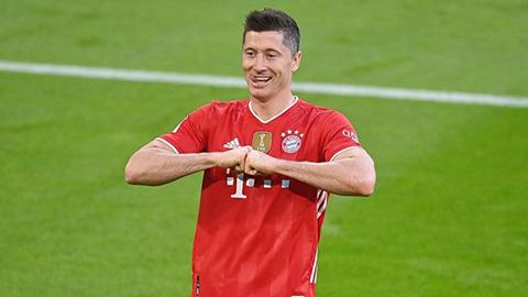 Lewandowski lần thứ 2 liên tiếp nhận giải thưởng xuất sắc nhất năm tại Đức