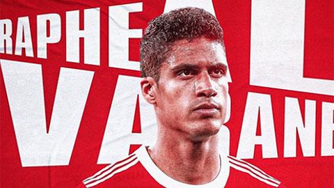Man United hoàn tất vụ chuyển nhượng Varane trong ít giờ tới